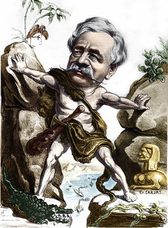 Фото №1 - Приключения авантюриста и каналокопателя Фердинанда де Лессепса