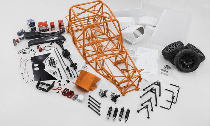 Фото №6 - Вот он, самый крутой подарок на 23 Февраля: конструктор-автомобиль Shortcut!