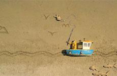 Пляжный Stop-Motion