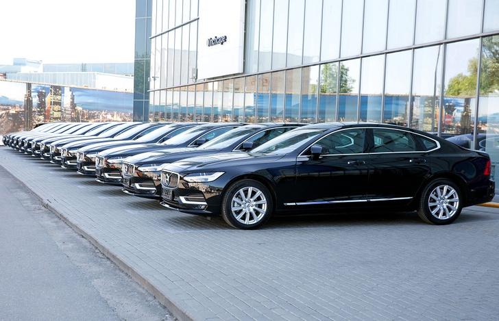 Фото №1 - Wheely пополнила ряды новыми Volvo S90
