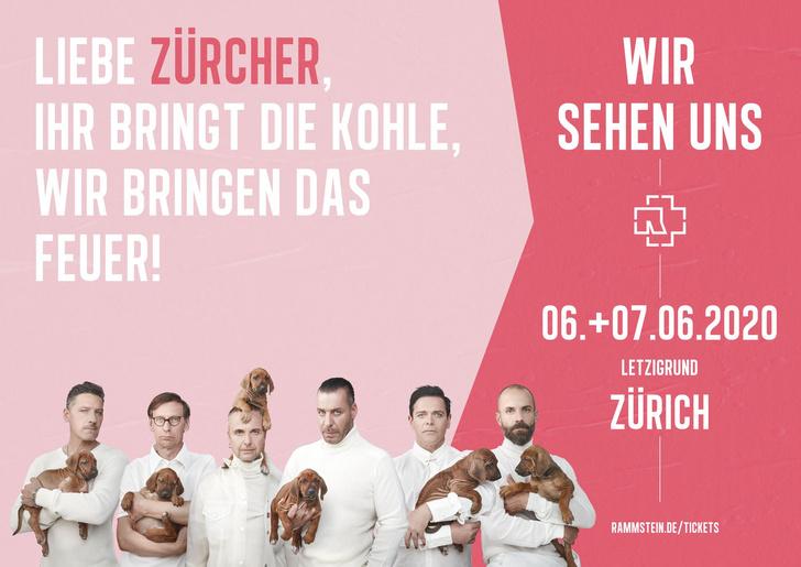 Фото №14 - Rammstein выложили ироничные плакаты к своему концертному туру