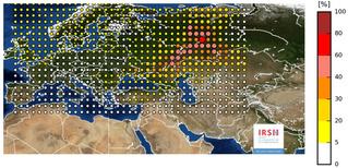 Над Европой зависло радиоактивное облако