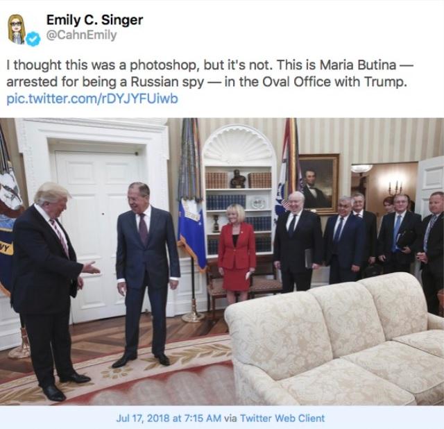 Фото №2 - В США снова нашли русскую шпионку, и она снова рыжая!