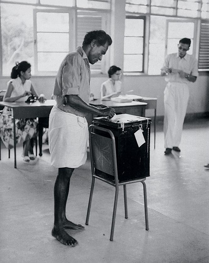 Выборы в Сингапуре. 1959год