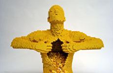 Скульптуры из LEGO