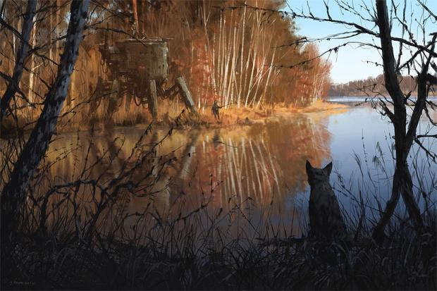 Фото №9 - Зловещая стимпанковская живопись с элементами славянского быта