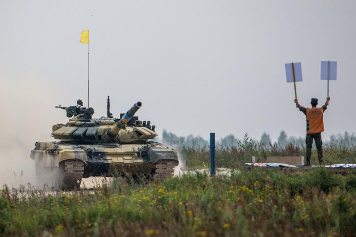 Фото №2 - Биатлон для танков пройдет в Подмосковье