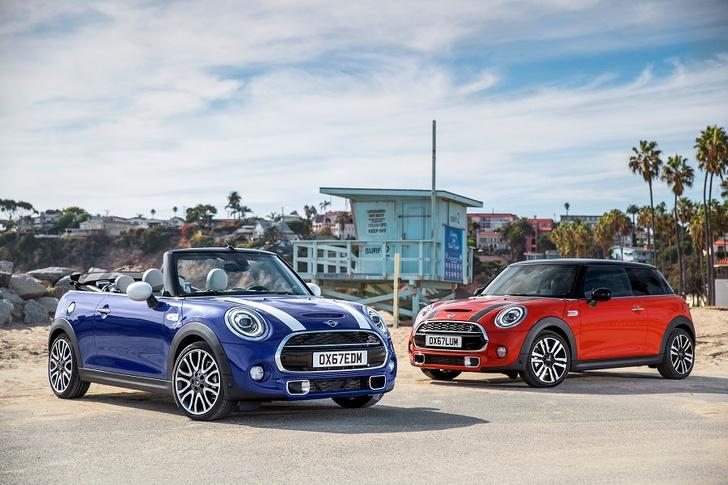 Фото №1 - Новое поколение: MINI 3 двери, MINI 5 дверей и MINI Cabrio