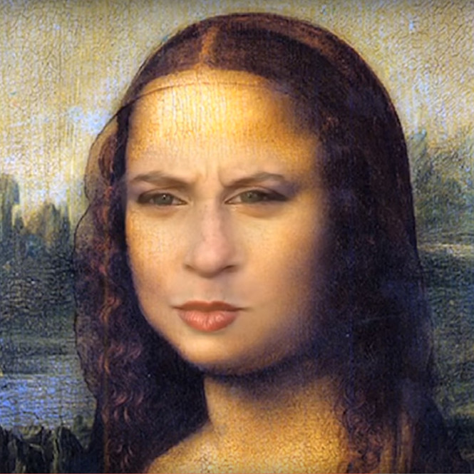 Face Swap Джоконда