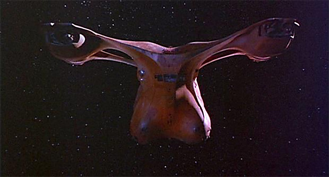 Фото №8 - 15 самых причудливых космических кораблей в кино