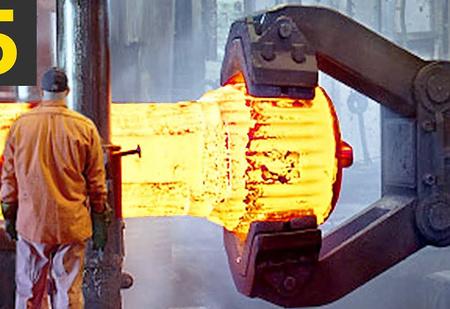 Успокаивающая работа фабричных роботов (видео для медитации)