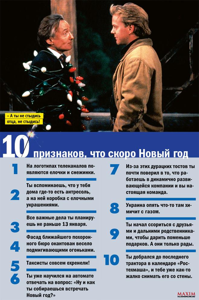 10 признаков того, что скоро Новый год