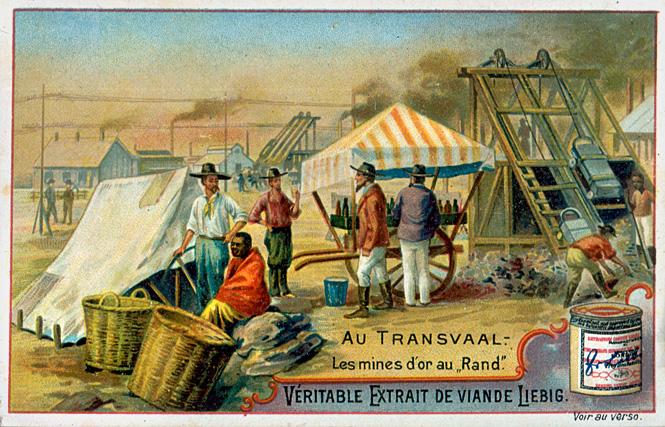 Трансвааль, Британские колонии в Африке