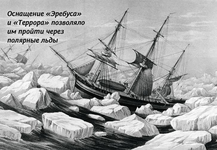Фото №7 - Потерянное покорение: что в действительности случилось с пропавшими кораблями «Эребус» и «Террор»