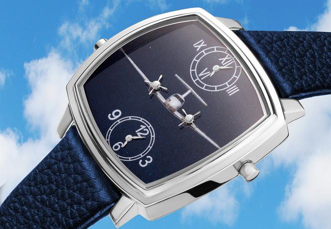 Часы «Авионика»: как быстро летит время!