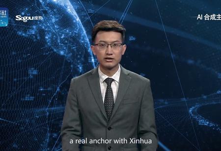 Китай показал первого искусственного ведущего новостей (видео)