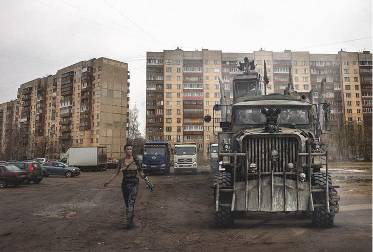 Фото №5 - Вот что получилось бы, если бы голливудские фильмы снимали в России!