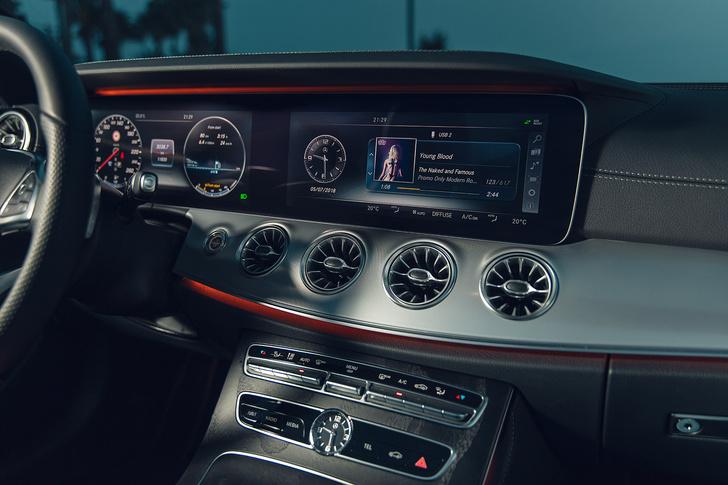 Фото №7 - Кабриолет Mercedes Е-Класса может вызвать неконтролируемые приступы счастья…