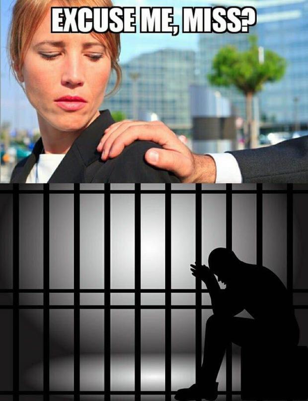 Фото №2 - Забудь о флирте! Опрос женщин показал: почти все, что ты делаешь, является домогательством