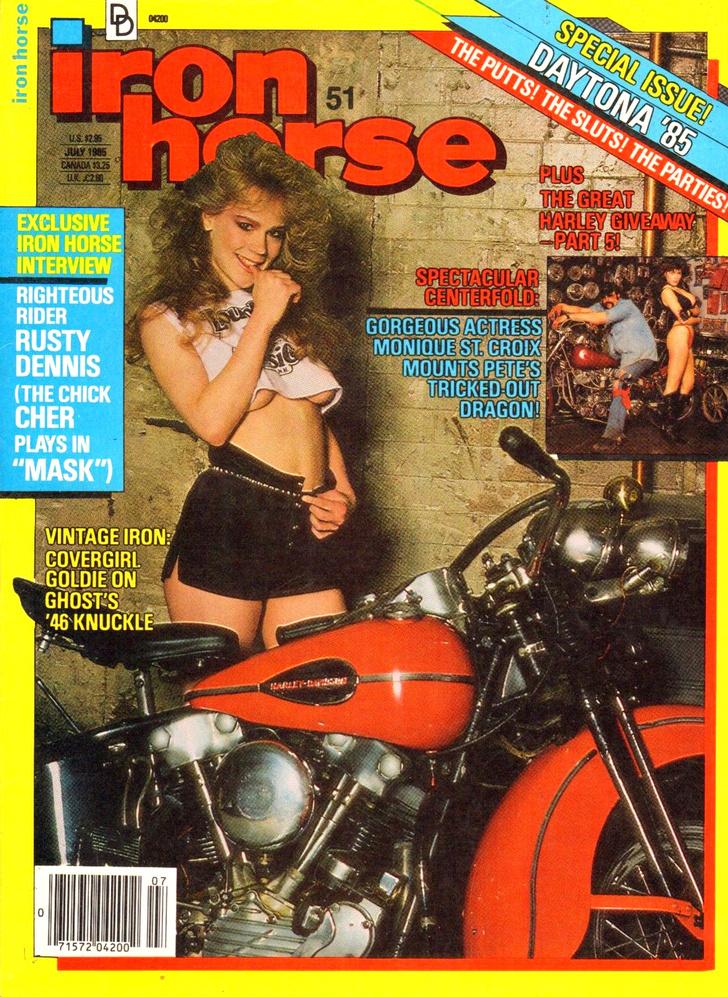Фото №7 - Сексуальные девушки байкеров из 1980-х!
