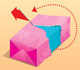 Фото №3 - Лайфхак: как завернуть подарок, чтобы его легко было развернуть