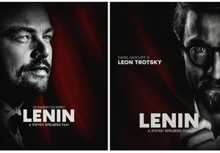 Интернет обсуждает фейковые постеры к фильму «Ленин» с Леонардо Ди Каприо в главной роли