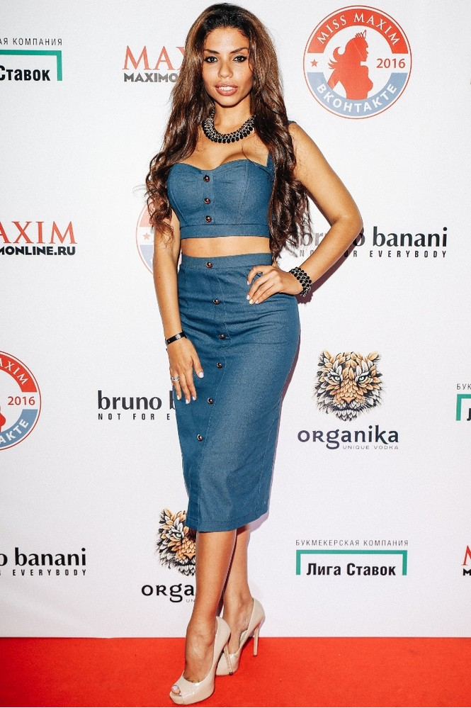 Габриэла на финале конкурса «Miss MAXIM ВКонтакте 2016»