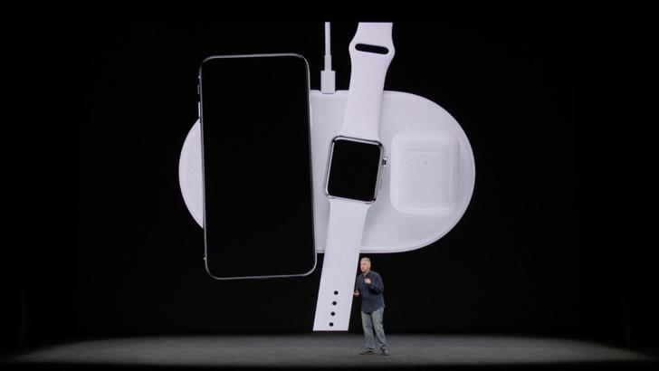 iPhone X работает от батареи на 2 часа дольше, чем iPhone 7. AirPower — универсальный док сразу для всех устройств Apple.