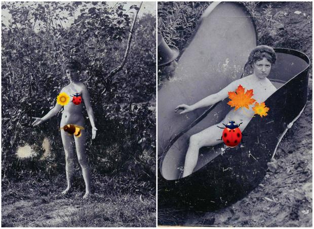 Фото №1 - Ретроэротическая фотопостановка рассказа Чехова «Роман с контрабасом»