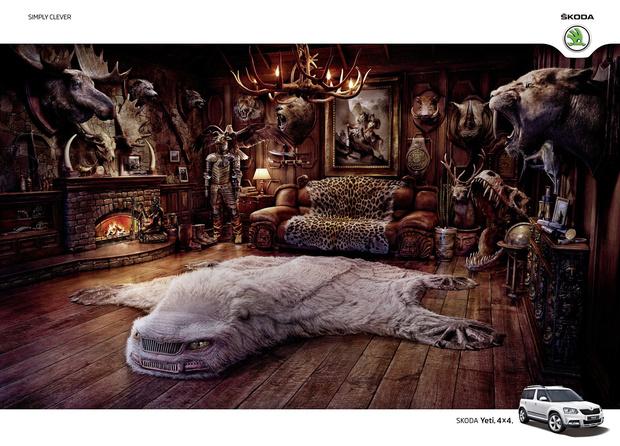 Фото №17 - 15 остроумных рекламных плакатов, которые ты, скорее всего, не видел