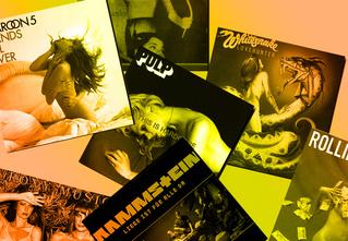35 самых сексуальных обложек рок-альбомов