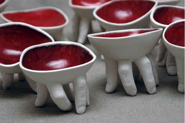 Фото №14 - Скульптор создает посуду, которая способна лишить аппетита. И сна!