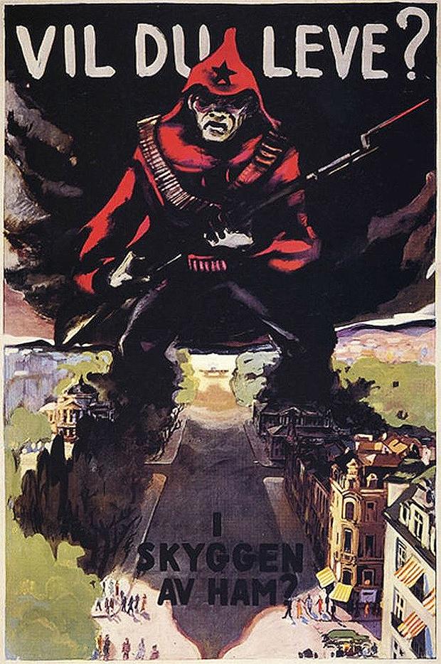 Фото №6 - 24 исторических плаката с антисоветской агитацией