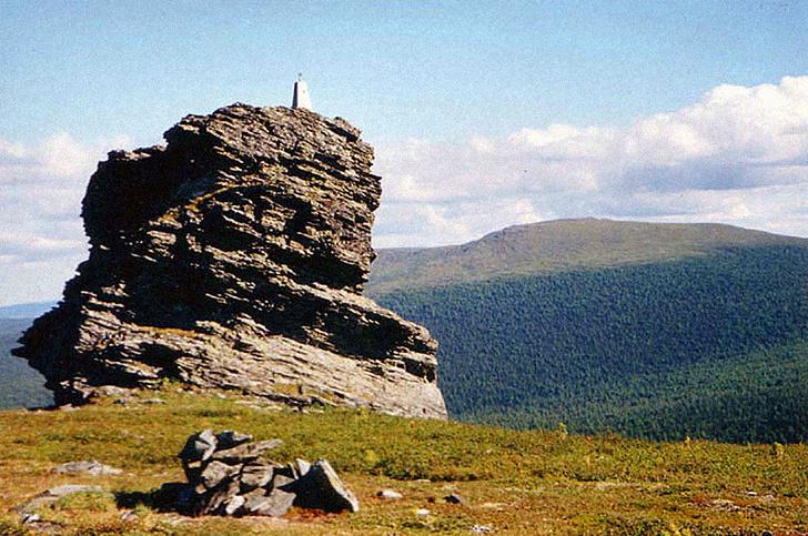 Гора мертвецов на границе Свердловской области