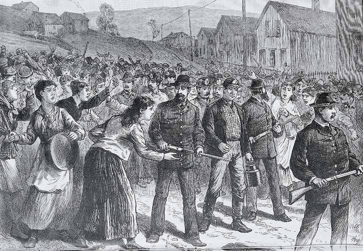После войны «пинкертоны» занимались разгоном рабочих
