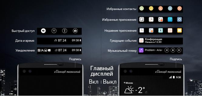 Два дисплея, один смартфон