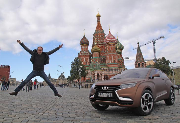Фото №10 - Главный дизайнер Lada Стив Маттин отвечает на вопросы MAXIM!