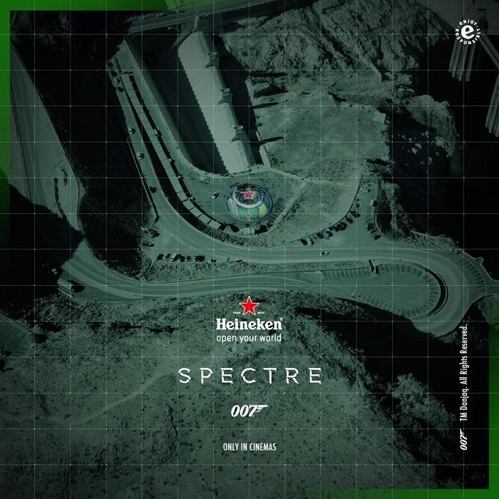 Фото №1 - Агент 007, Heineken и космическое селфи