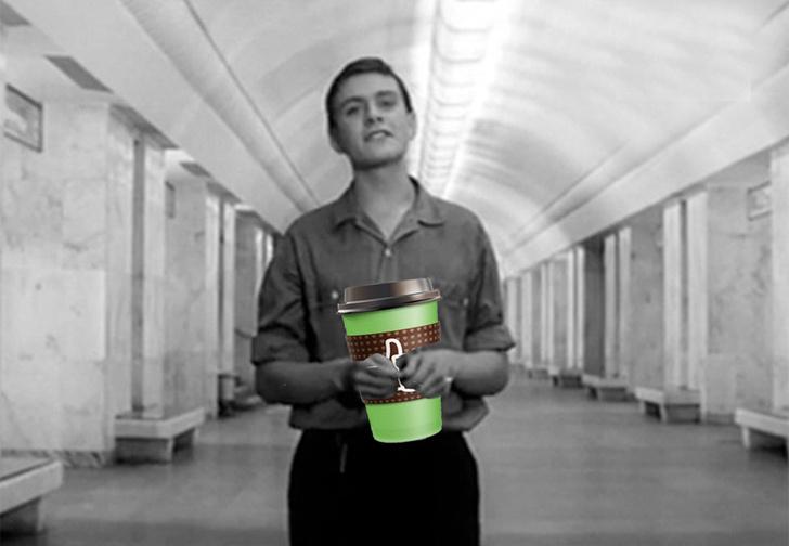 Фото №1 - Оказывается, в московском метро есть штраф за проезд с кофе. И его собираются увеличить
