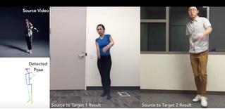 Нейросеть заставит тебя танцевать, даже если не умеешь (видео)