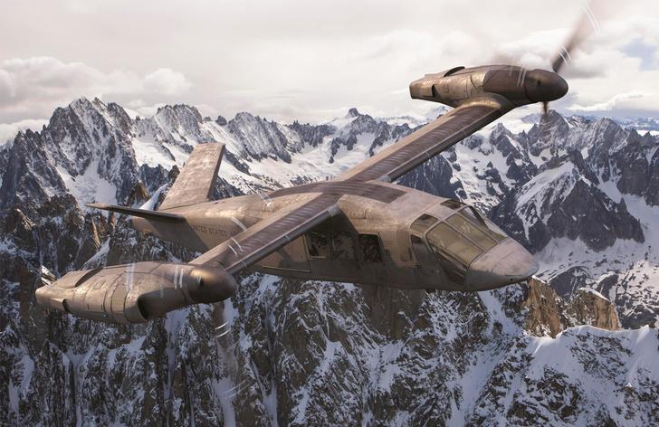 Фото №1 - Оцени новый футуристический вертолет армии США