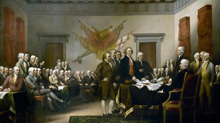 Фото №1 - Facebook счел американскую Декларацию о независимости полной ненависти