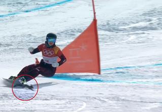 Белка обманула смерть на олимпийской трассе (волнительное ВИДЕО)