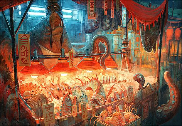 Фото №1 - Художник недели: безумный, безумный, безумный мир Николая Локертсена