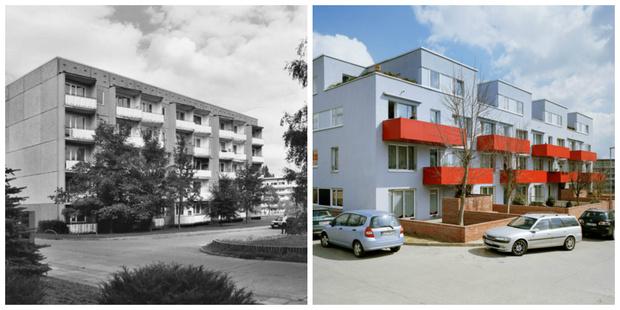 Фото №1 - Как сейчас выглядят хрущевки времен СССР в Германии