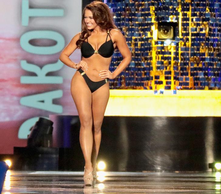 Фото №2 - Новая «Мисс Америка»! Секретное оружие США в действии (и бикини)!