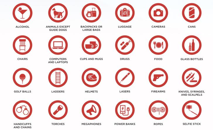 Фото №1 - Интернет радуется списку запрещенных на Евровидении предметов