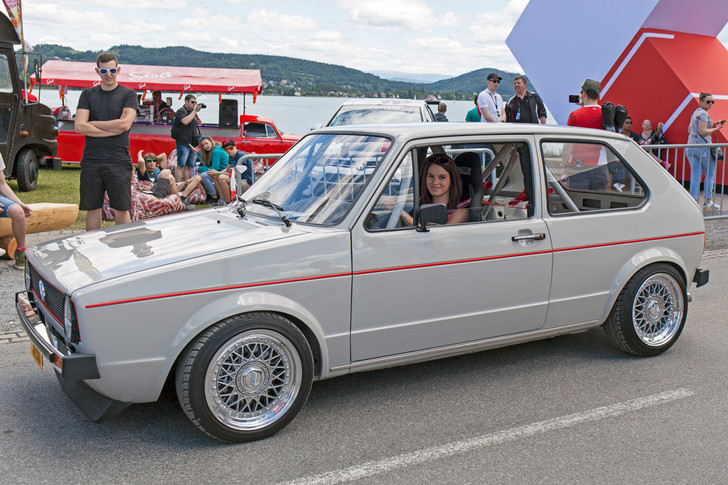 Фото №4 - Самые безумные машины фестиваля GTI Treffen