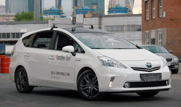 Фото №1 - Яндекс.Такси испытывает собственный беспилотный автомобиль
