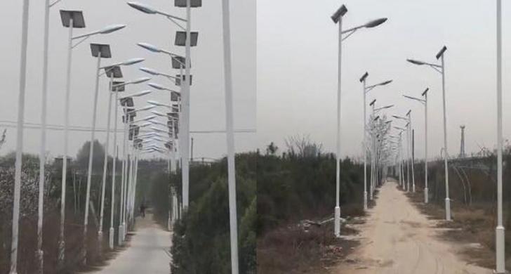 Фото №1 - Китайцы построили, возможно, самую освещенную дорогу в мире, но ради компенсации
